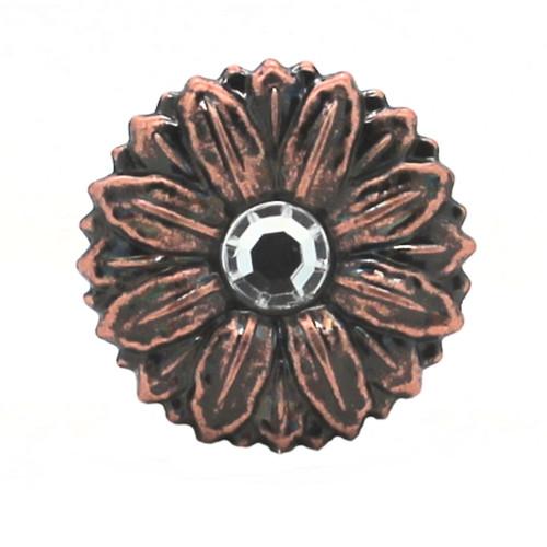Sunflower Antique Copper Decorative Line 24 Snap