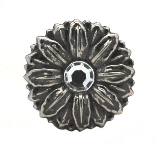 Sunflower Antique Nickel Decorative Line 24 Snap Cap