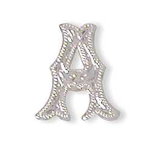 Alphabet Letter A Concho