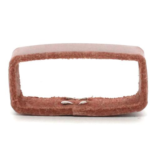 """Leather Loop Light Brown 1-1/2"""" Side"""