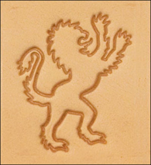 3D Right Lion Stamp 8617-00