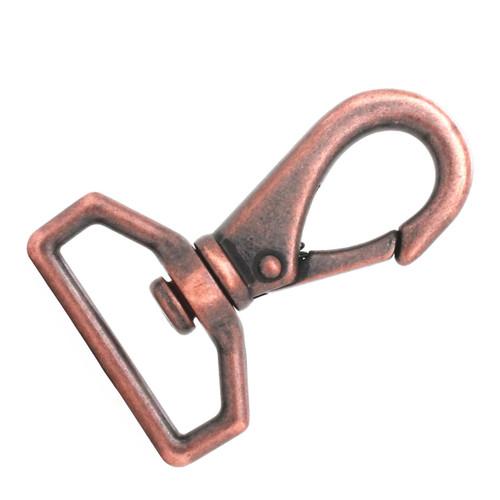 Die Cast Swivel Snap Hook Antique Copper Right