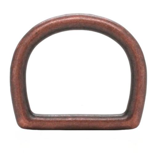 Die Cast D-Ring Antique Copper