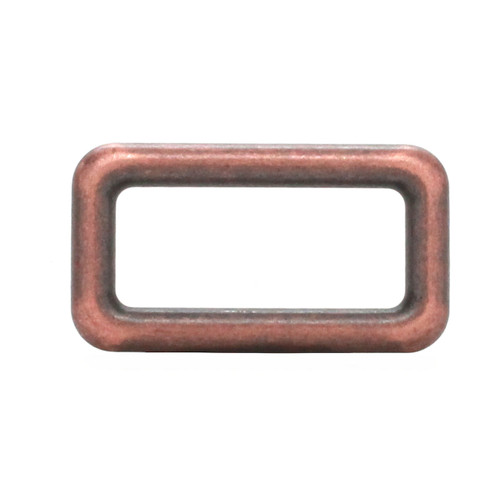 Die Cast Rectangular Ring Antique Copper