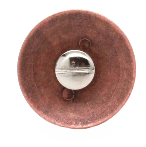 Army Logo Antique Copper Back