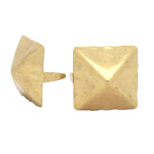 "Brass Pyramid 1"" Diameter Spots 10 pk"