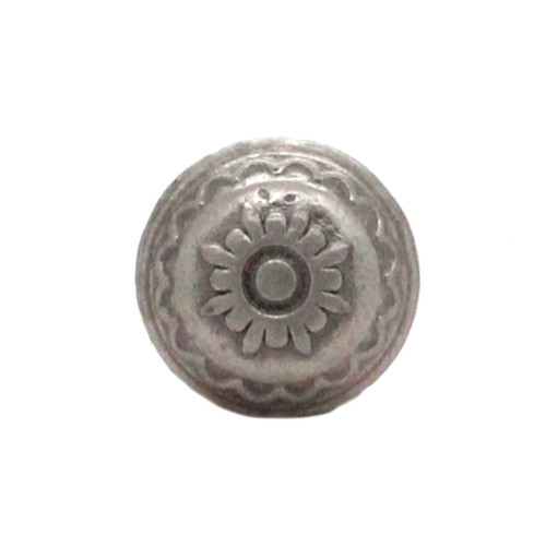Santa Fe Sun Concho Antique Nickel Front