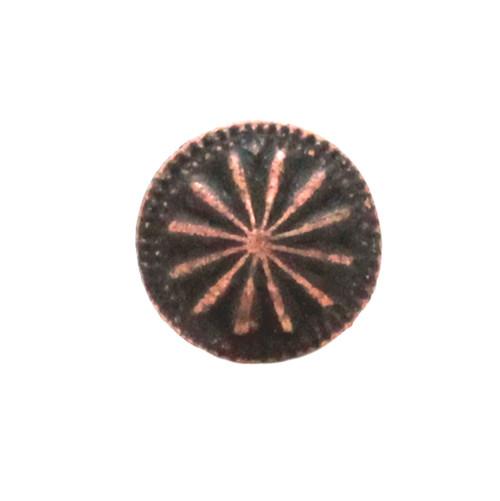 Santa Fe Parachute Concho Antique Copper Front