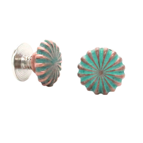 Parachute Chicago Screw Concho Copper Patina Front