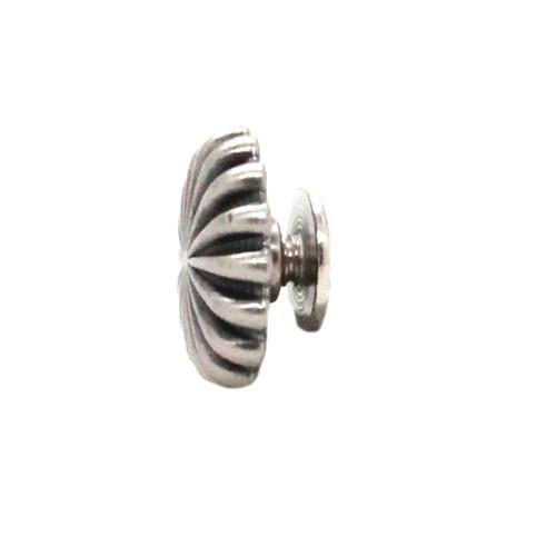 """Pinwheel Concho Antique Nickel 3/4"""" Side"""