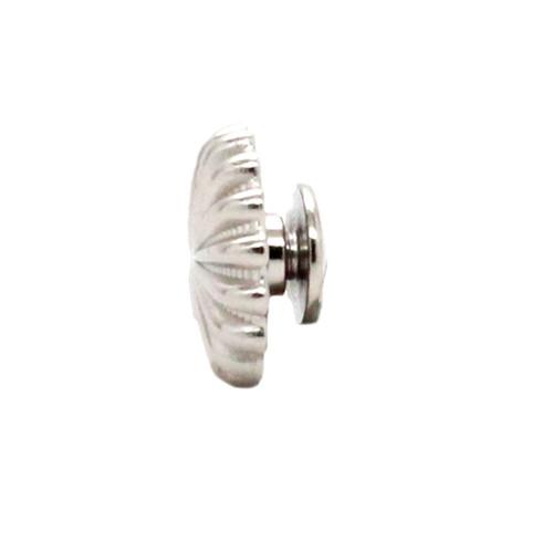 """Pinwheel Concho Silver 3/4"""" Side"""