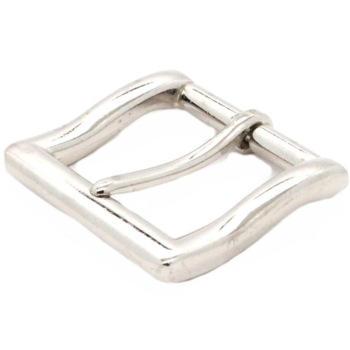 Square heel bar 1.5 inch nickel plate front