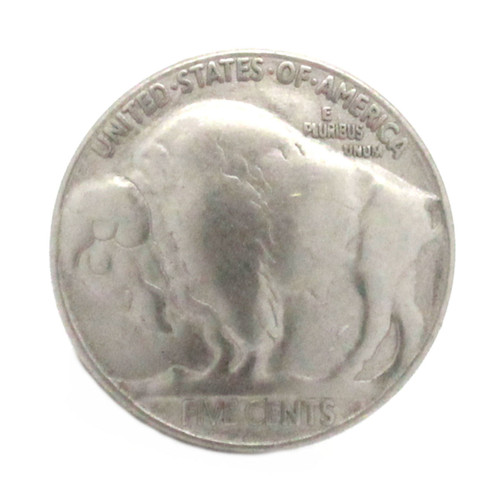 Buffalo nickel matte nickel front