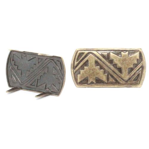 Antique brass spot 54882-09