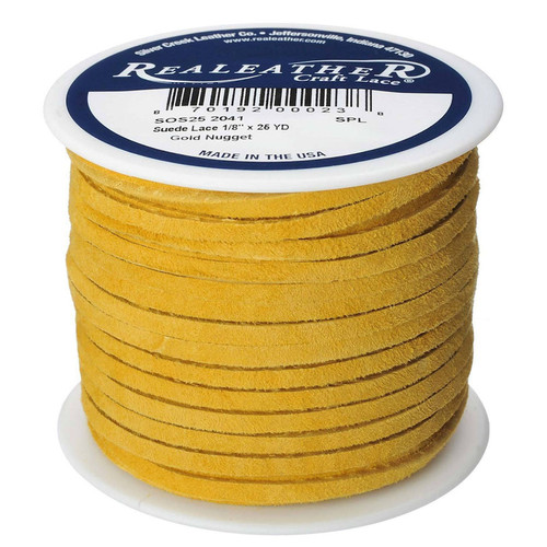 Gold Nugget Suede Spool
