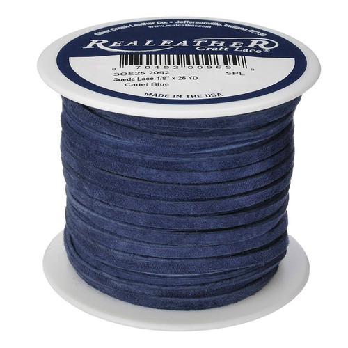 Suede Lace Cadet Blue