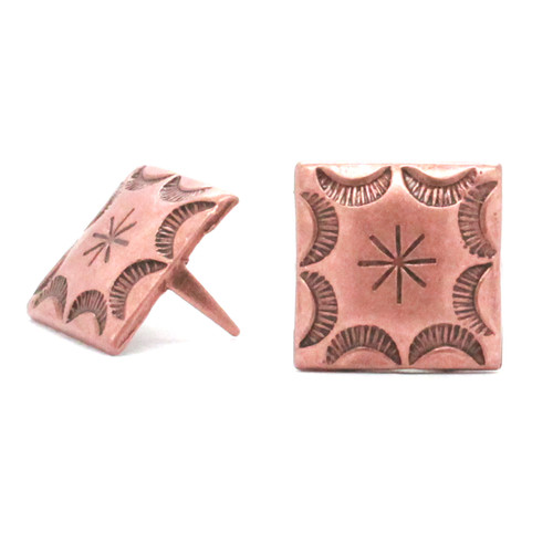 Antique Copper Steel Spots 10 pk 54838-10