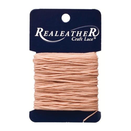 Waxed Thread Tan Realeather BTH25 04