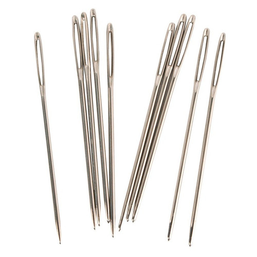 Large Eye Stitching Needles 10 Pack Loose
