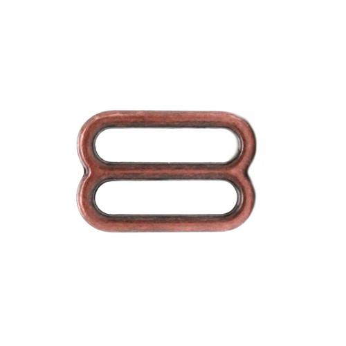 Strap Slide Adjuster 1 Inch Antique Copper Plate