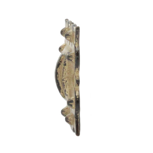 "Slotted Concho Square Rustic Golden 1"" Side"
