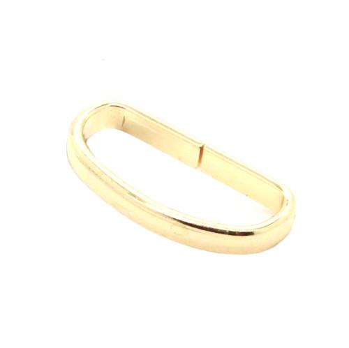 "Solid Brass Strap Loop 1.25"" 1932-01"