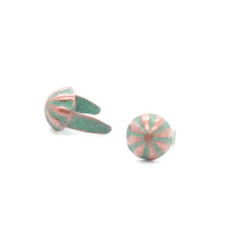 "Copper Patina Parachute 3/16"" Diam Nailhead"