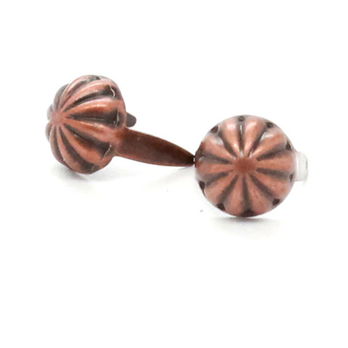 """Parachute Nail Head Spots Antique Copper 5/16"""""""