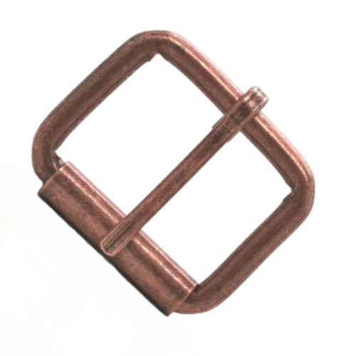 Roller buckle 1.5 Inch antique copper front