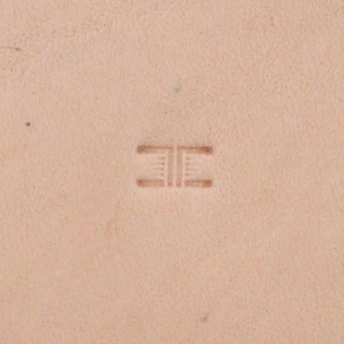 Basketweave Stamping Tool Petite X502 Impression
