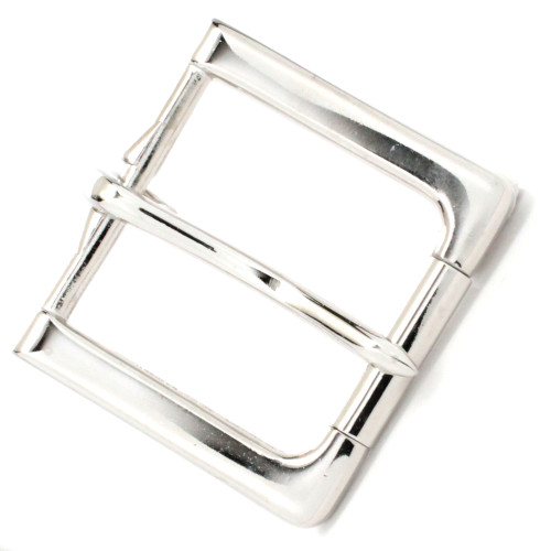 Rugged Roller Belt Nickel Buckle Top