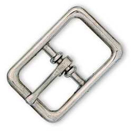 "Bridle Buckle Nickel Plated 5/8"" 1510-00"