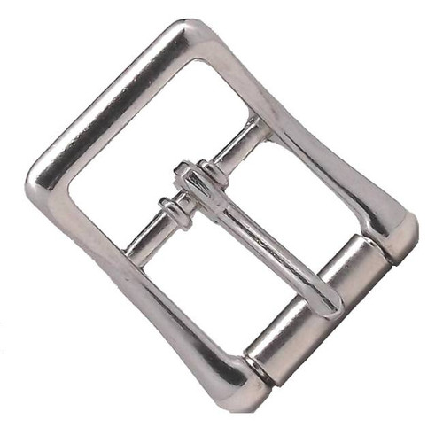"Nickel All Purpose Strap Buckle 3/4"" 6 Pack"