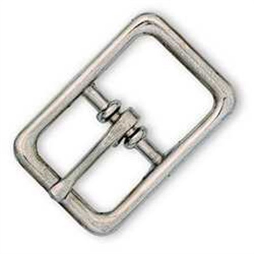"Bridle Buckle Nickel Plated 3/4"" 1511-00"
