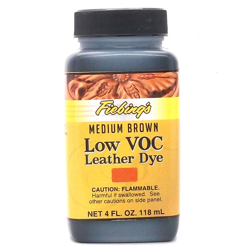 Fiebing's LeatherColors Medium Brown