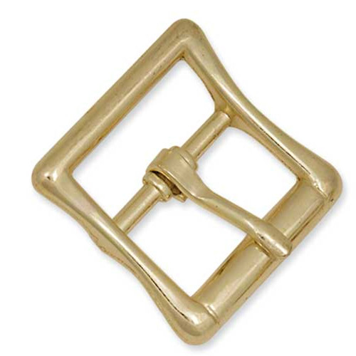 "Brass All Purpose Strap Buckle 1/2"""