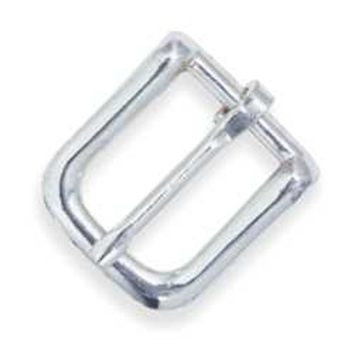 "Nickel Plated Bridle Buckle #12 1/2"" 1600-02"