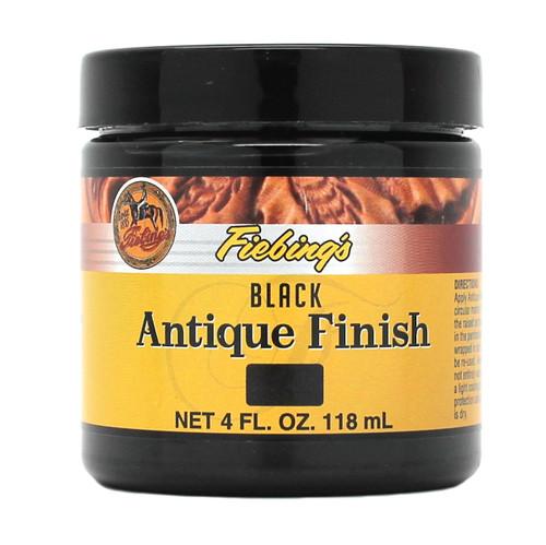 Black Fiebing's Antique Finish Paste 4 oz