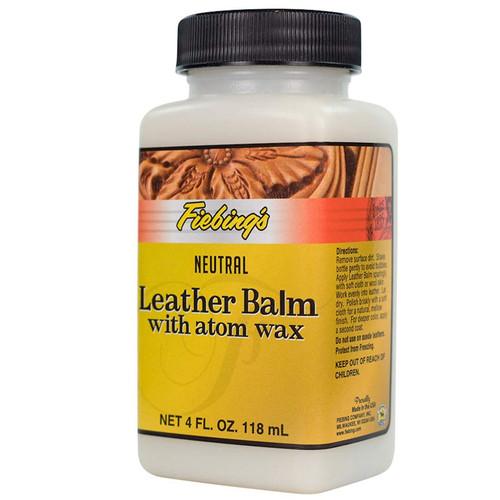 Leather Balm with Atom Wax Angle
