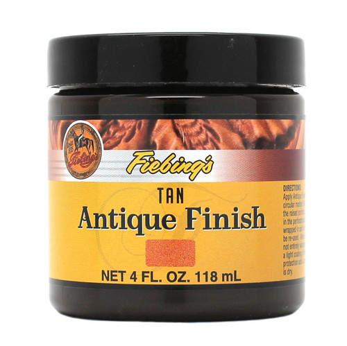 Tan Fiebing's Antique Finish Paste 4 oz.