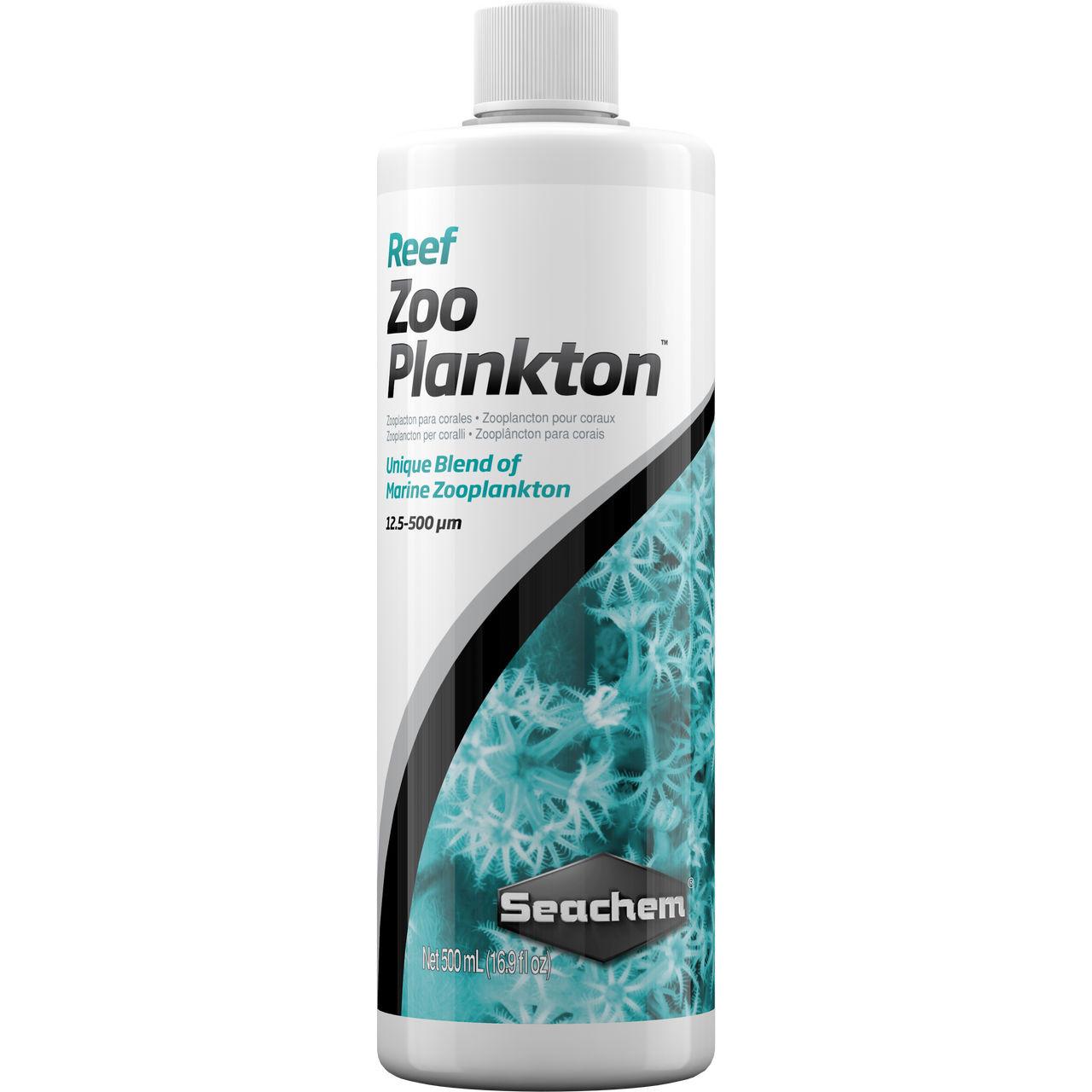 Reef Zooplankton (500 mL) - Seachem - SaltwaterAquarium.com