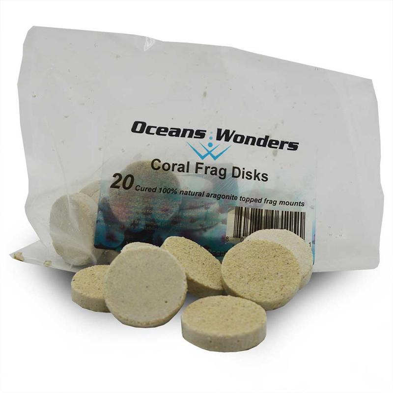 Oceans Wonders 20-Piece Coral Frag Tiles