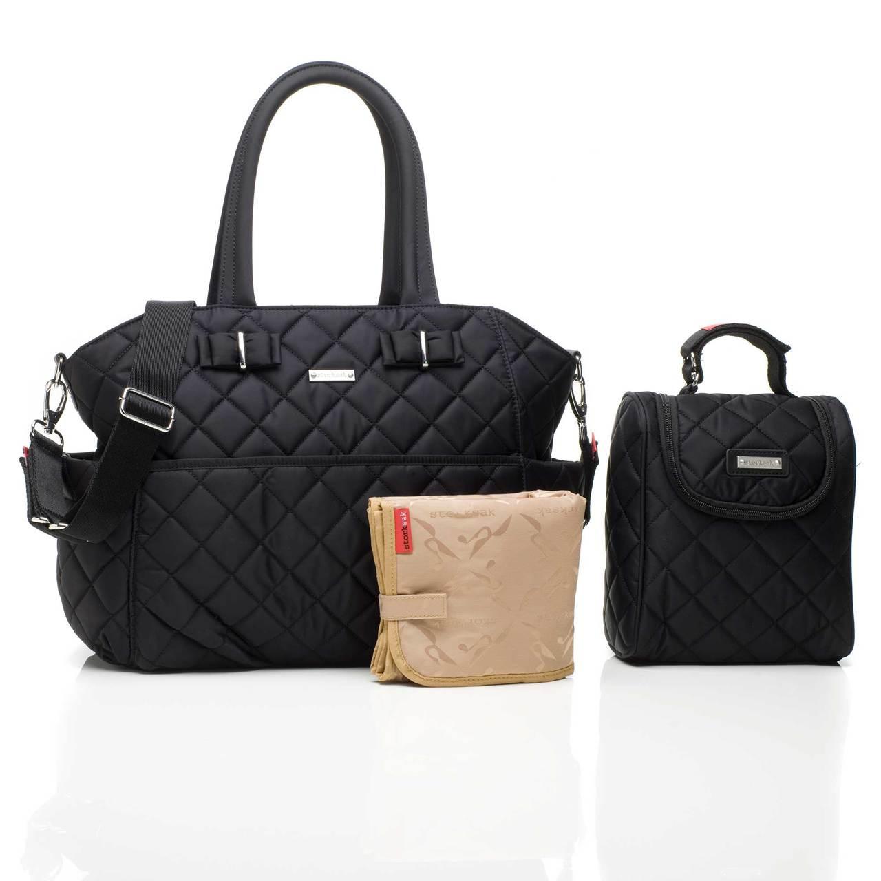 a21aebb62eff1 Storksak Bobby Baby Nappy Bag