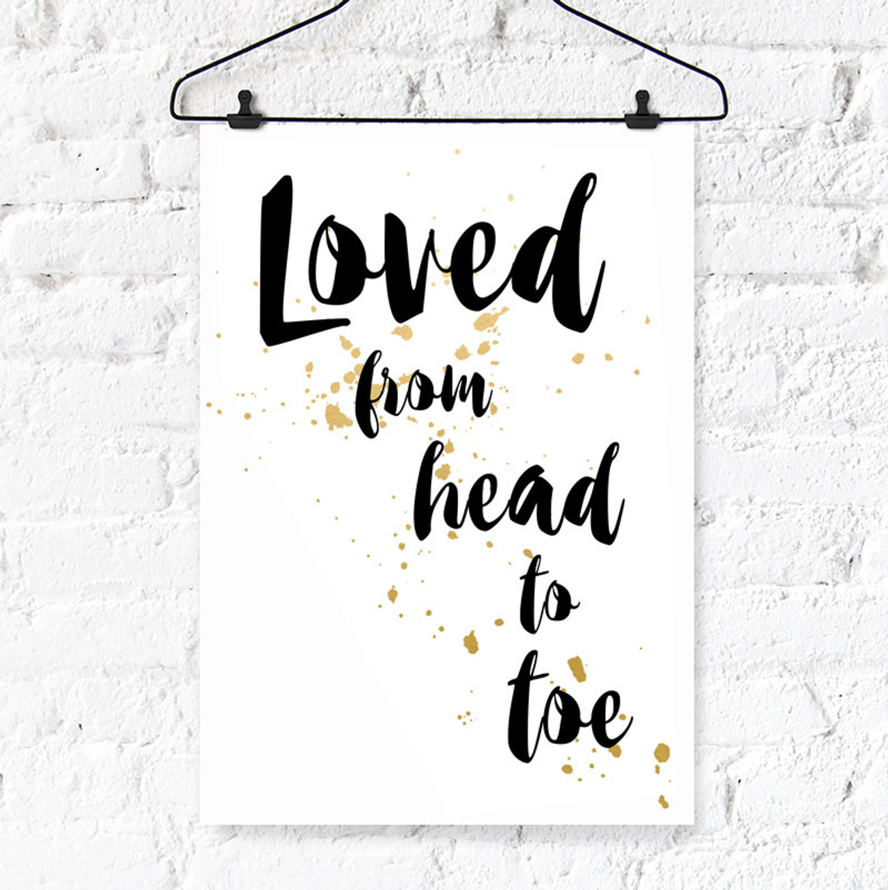 photo relating to Printable Wall Decor identified as Enjoyed Against Electronic Printable Wall Artwork