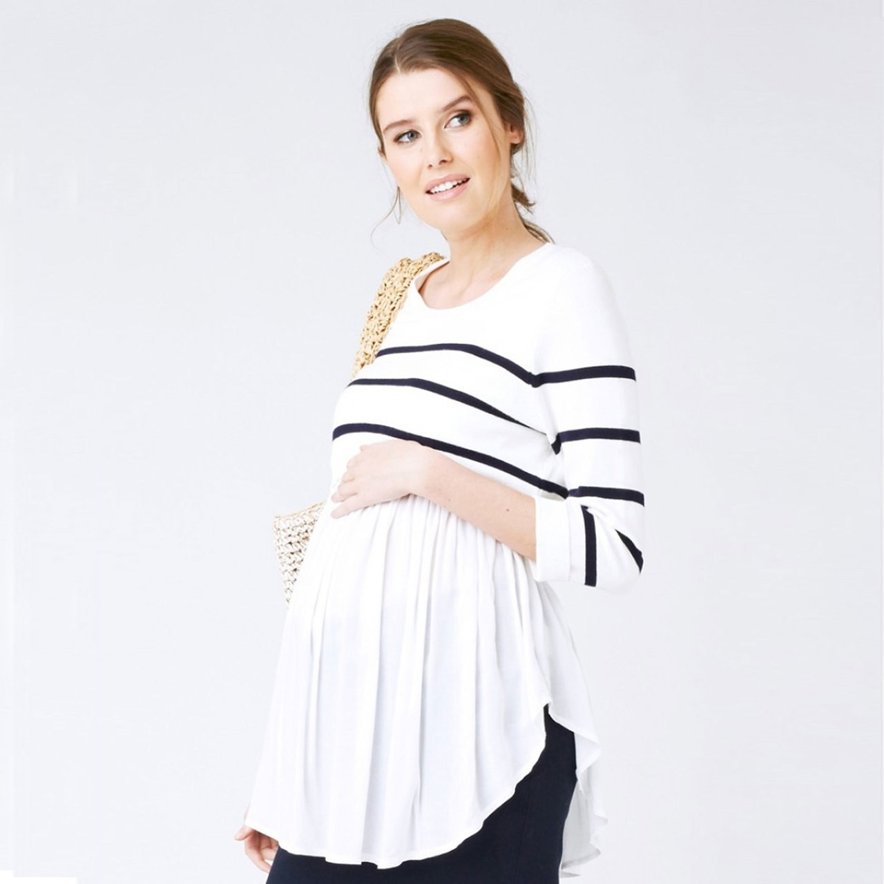 fb6cb701e7d Buy Ripe Maternity Feeding Babydoll Knit Top - Nursing