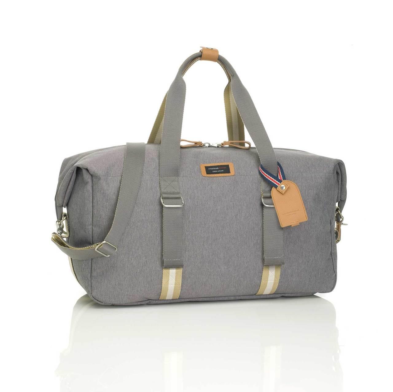 e6107a4c49e1 Storksak Travel Duffle Bag / Hospital Bag - Grey