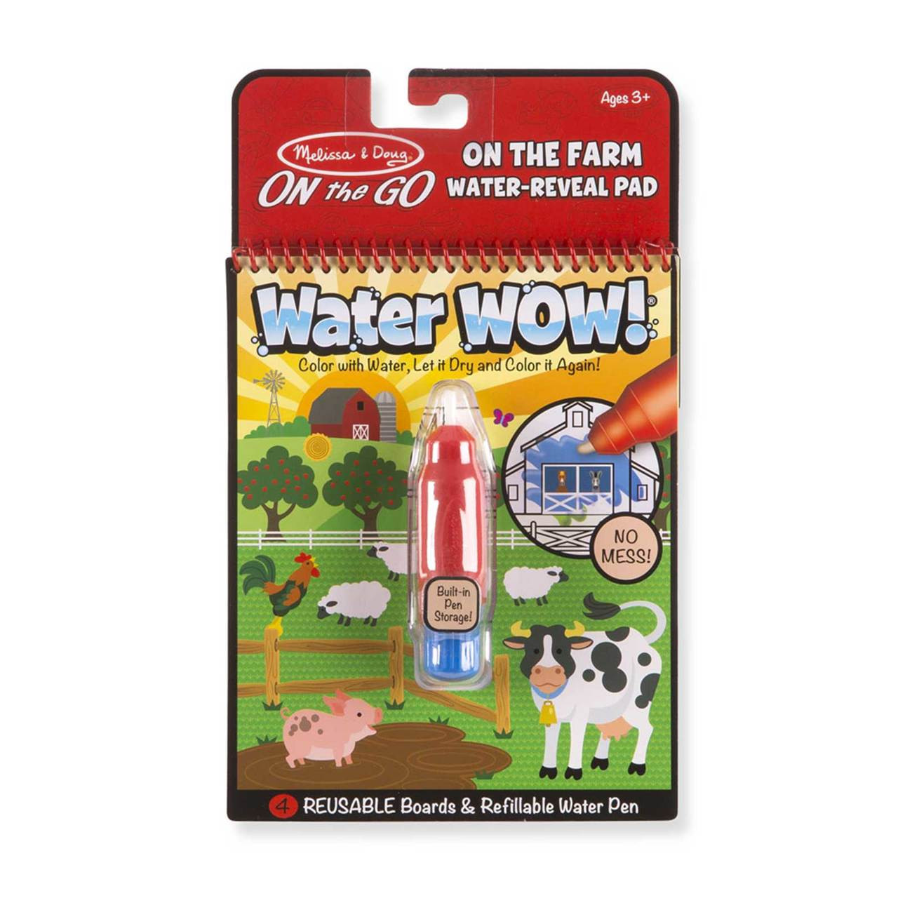 Water Wow! Water Reveal Pad - Farm