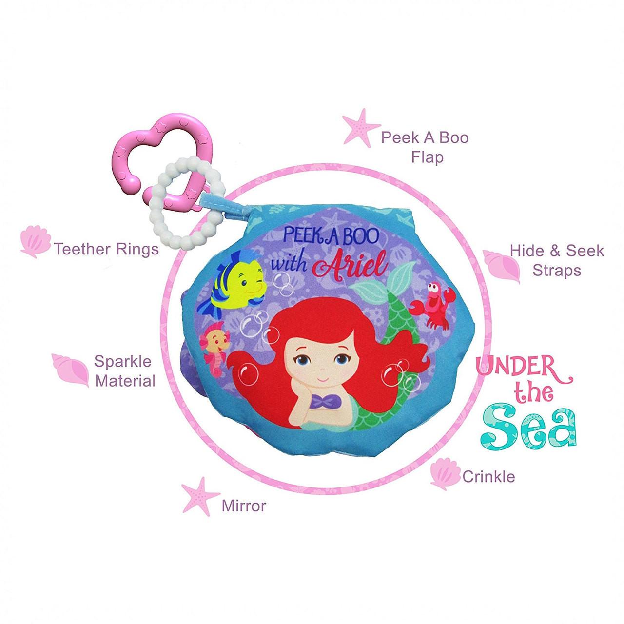 a54fc9acb7 Disney Baby Princess Soft Book - Ariel