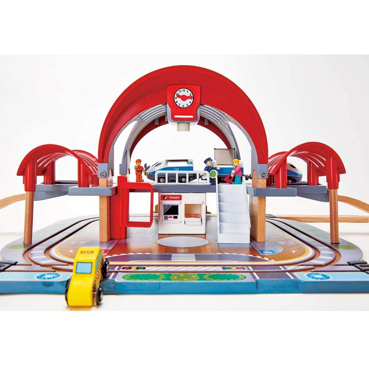 Hape Grand City Station Train 45 Piece Set