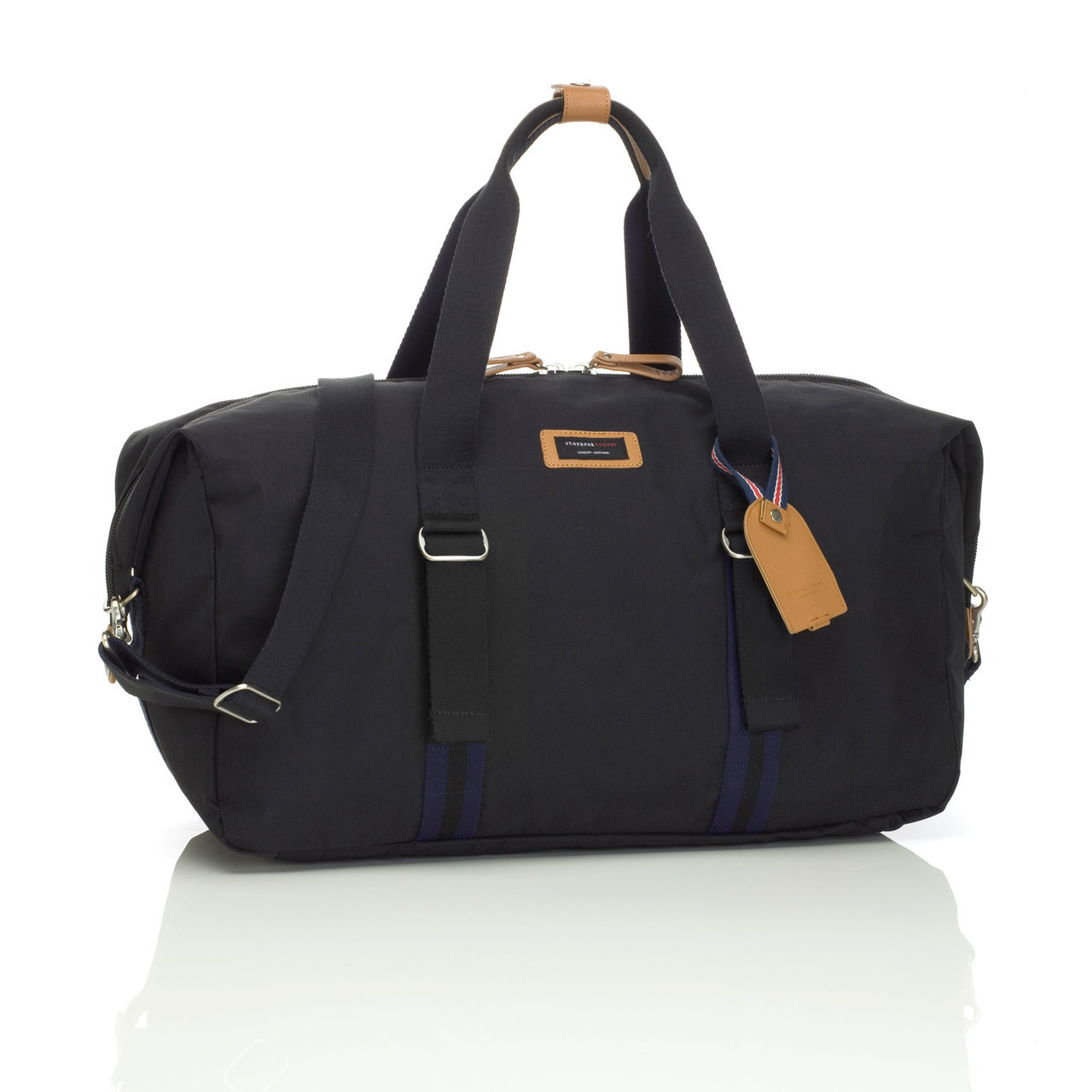 Storksak Black Travel Duffle Bag / Hospital
